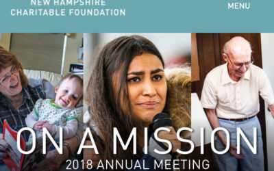 #OnAMission, NH Charitable Foundation's Annual Meeting, was The Place to Be!