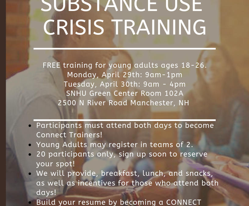 Suicide Prevention Training for Young Adults