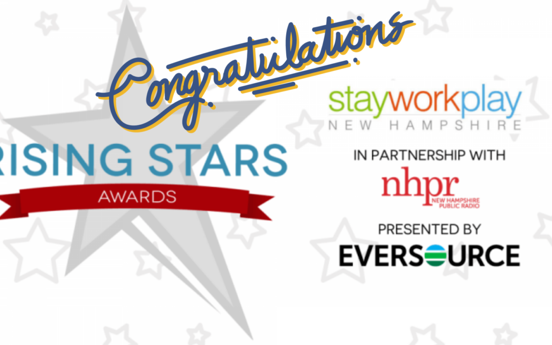 Congratulations to Stay Work Play's 2020 Rising Star Award Recipients