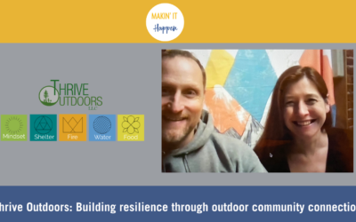 Thrive Outdoors: Building resilience through outdoor community connection
