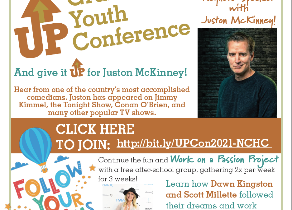 NH Youth Get Ready to Spread Positivity—the Up Conference is Back for a Spring Session May 20th!!!!