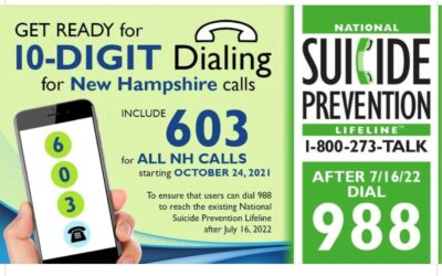 Area Code Now Required to Prepare for 9-8-8