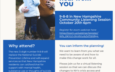 9-8-8 in New Hampshire Community Listening Session